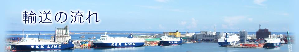 九州輸送サービス輸送の流れ